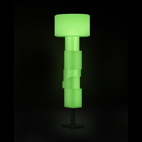 Светильник напольный (торшер) LED Helmond, высота 183 см., светодиодный, разноцветный (RGB), пылевлагозащита IP65