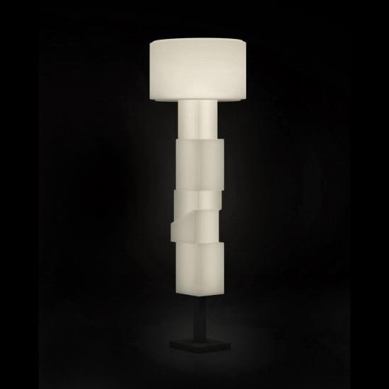 Светильник напольный (торшер) LED Helmond Bright, высота 183 см., светодиодный, цвет тёплый белый, пылевлагозащита IP65