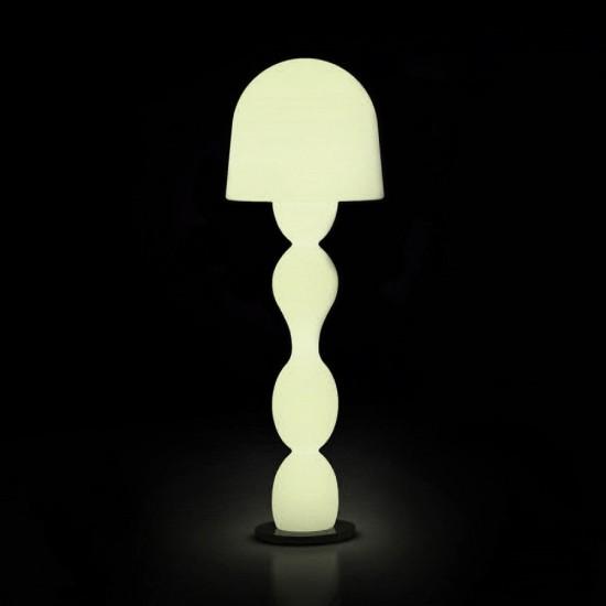 Светильник напольный (торшер) LED Venlo Bright, высота 146 см., светодиодный, цвет тёплый белый, пылевлагозащита IP65
