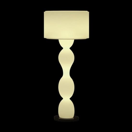 Светильник напольный (торшер) LED Twist Bright, высота 139 см., светодиодный, цвет тёплый белый, пылевлагозащита IP65