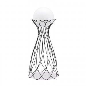 Подставка металлическая для LED шара диам. 40 см., плетёная, с порошковым напылением