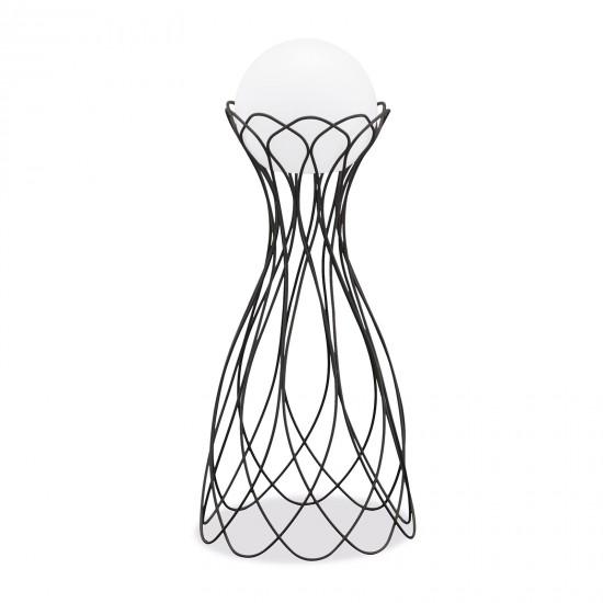 Подставка металлическая для LED шара диам. 35 см., плетёная, с порошковым напылением