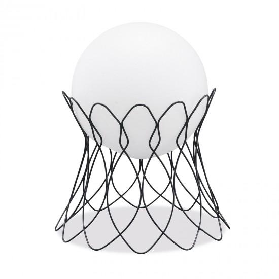 Подставка металлическая для LED шара диам. 50 см., плетёная, с порошковым напылением