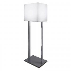 Куб светящийся LED, 40*40*40 см., на хромированной металлической стойке