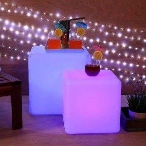 Куб светящийся LED, 50*50*50 см., разноцветный (RGB), пылевлагозащита IP65, 220V