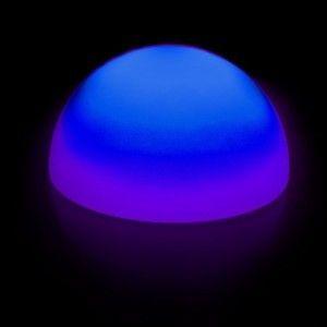 Полусфера светящаяся беспроводная LED, диам. 60 см., разноцветная (RGB), IP68, с аккумулятором