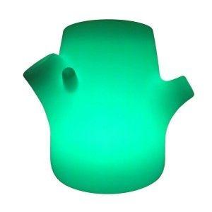 Светящееся кашпо для цветов LED TREE-2 c разноцветной RGB подсветкой и пультом ДУ IP65