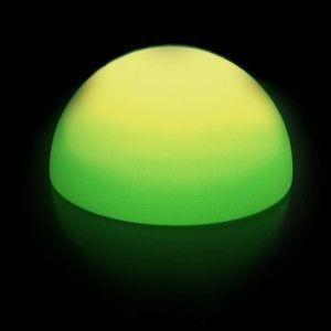 Полусфера светящаяся беспроводная LED, диам. 60 см., разноцветная (RGB), пылевлагозащита IP68, встроенный аккумулятор