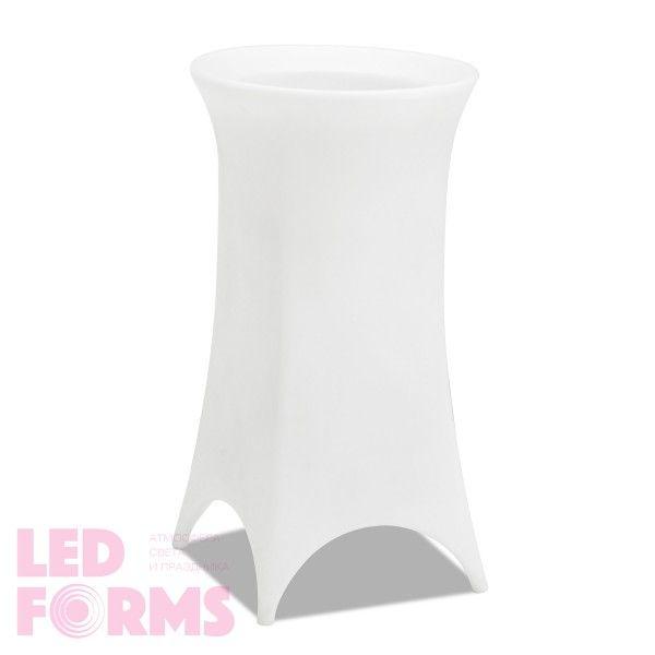 Кашпо светящееся (цветочница) LED Trendy L, высота 100 см., светодиодное, разноцветное (RGB), пылевлагозащита IP65