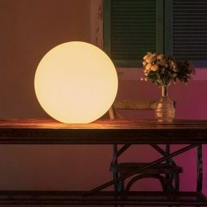 Светящийся шар LED Ball 35 см., разноцветный RGB, с пультом ДУ, IP65