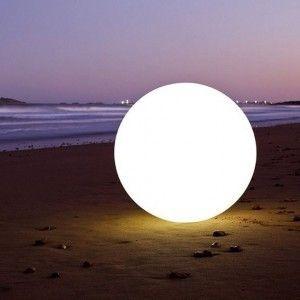 Светящийся шар LED Ball 80 см., с аккумулятором, разноцветный RGB, с пультом ДУ, IP68