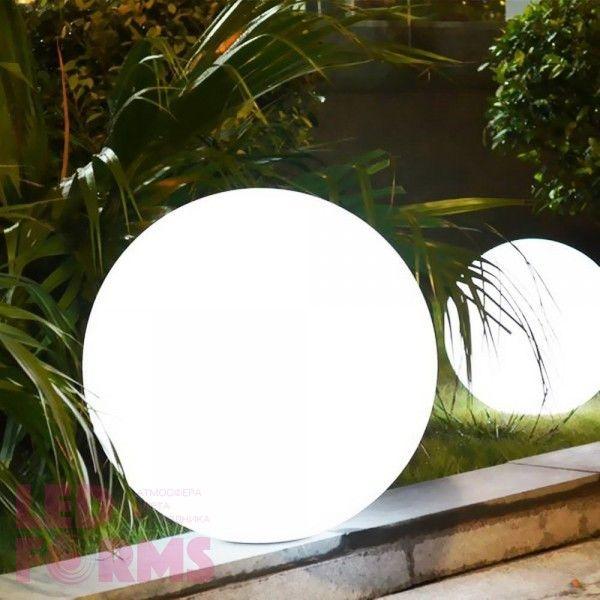Шар светящийся LED, диам. 50 см., цвет тёплый или холодный белый, пылевлагозащита IP65, 220V