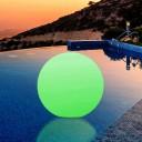 Светящийся шар LED Ball 50 см., с аккумулятором, разноцветный RGB, с пультом ДУ, IP68