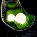 Светящийся шар LED Ball 20 см., с аккумулятором, разноцветный RGB, с пультом ДУ, IP68