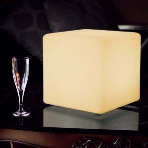 Куб светящийся LED, 20*20*20 см., цвет тёплый или холодный белый, IP65, 220V