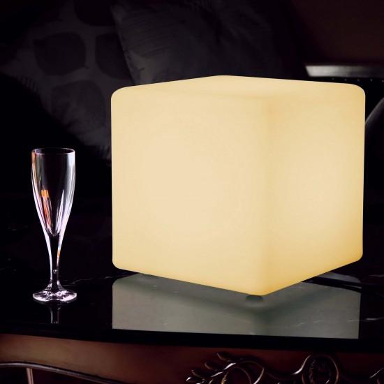Куб светящийся LED, 20*20*20 см., цвет тёплый или холодный белый, пылевлагозащита IP65, 220V