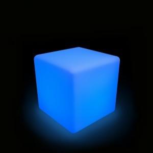 Светящийся куб LED Cube 40 см., разноцветный RGB, с пультом ДУ, IP65