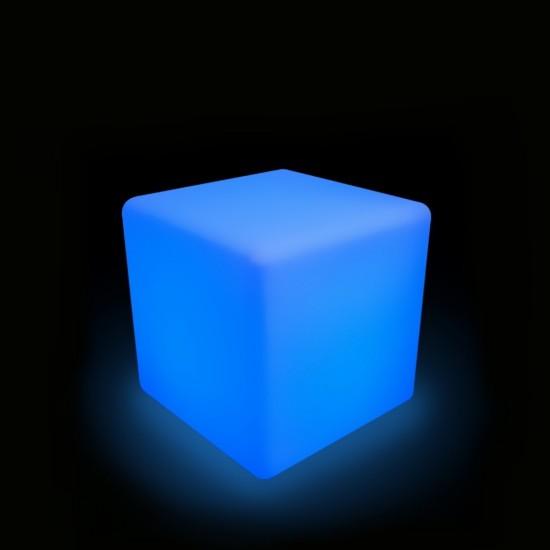 Куб светящийся LED, 40*40*40 см., разноцветный (RGB), пылевлагозащита IP65, 220V