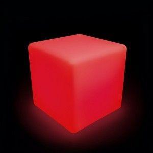 Светящийся куб LED Cube 50 см., разноцветный RGB, с пультом ДУ, IP65