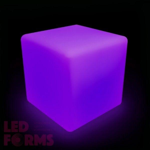 Куб светящийся LED, 80*80*80 см., разноцветный (RGB), пылевлагозащита IP65, 220V