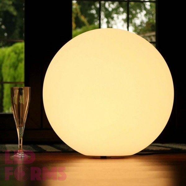 Шар светящийся LED, диам. 25 см., цвет тёплый или холодный белый, пылевлагозащита IP65, 220V