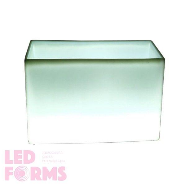 Кашпо с подсветкой LED Tetra A, 98*45*56 см., светодиодное, цвет белый, 220V