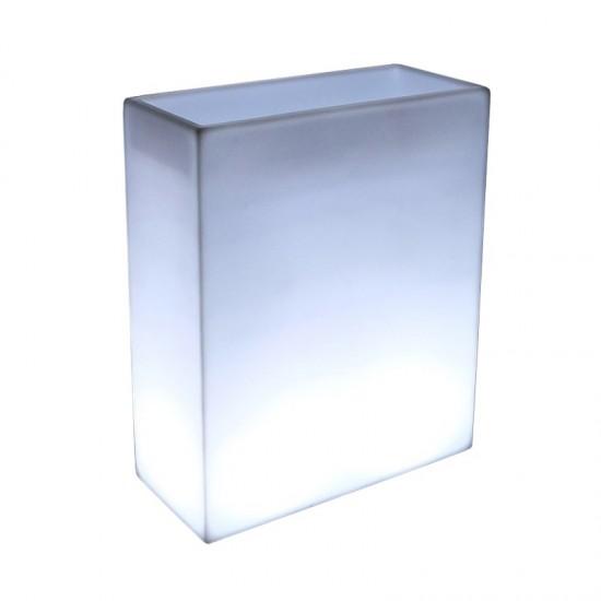 Светящееся кашпо для цветов LED WALL-2 c белой светодиодной подсветкой IP65 220V — Купить в интернет-магазине LED Forms