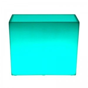 Кашпо с подсветкой LED Wall A, 80*31*71 см., светодиодное, разноцветное (RGB), с аккумулятором