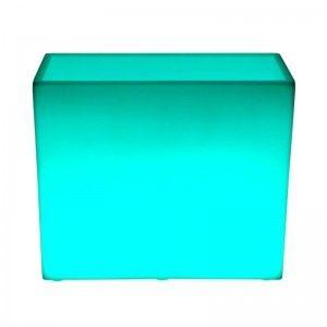 Кашпо с подсветкой LED Wall A, 80*31*71 см., светодиодное, разноцветное (RGB), 220V