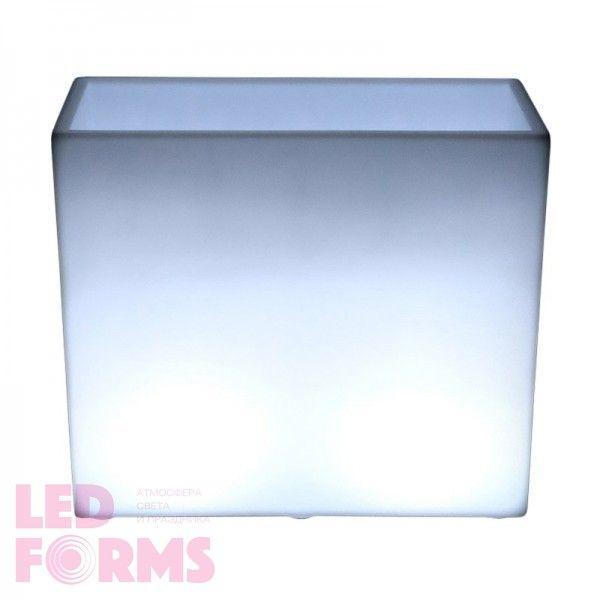 Кашпо с подсветкой LED Wall A, 80*31*71 см., светодиодное, цвет белый, 220V