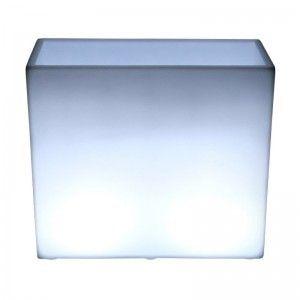 Кашпо с подсветкой для цветов LED Wall A, белое, IP65, 220V