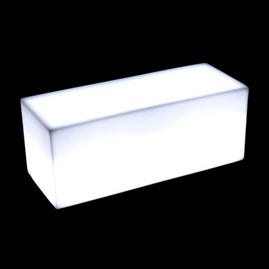 Светящееся кашпо для цветов LED HORIZON-1 c белой светодиодной подсветкой IP65 220V — Купить в интернет-магазине LED Forms