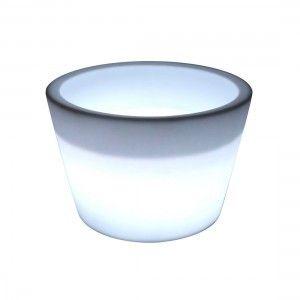 Кашпо с подсветкой LED Cylinder B, 61*79*53 см., светодиодное, цвет белый, 220V