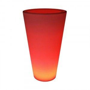 Кашпо с подсветкой LED Cylinder C, 34*60*108 см., светодиодное, разноцветное (RGB), с аккумулятором