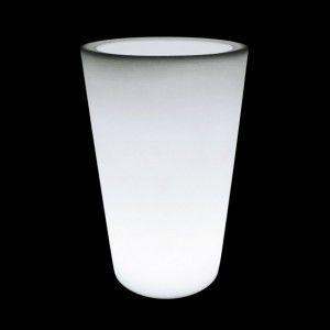 Светящееся кашпо для цветов LED TUBE-2 c белой светодиодной подсветкой IP65 220V — Купить в интернет-магазине LED Forms