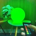 Светящийся шар LED Ball 30 см., с аккумулятором, разноцветный RGB, с пультом ДУ, IP68