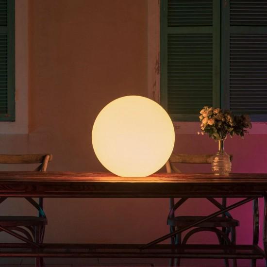 Шар светящийся беспроводной LED, диам. 35 см., разноцветный (RGB), пылевлагозащита IP68, встроенный аккумулятор