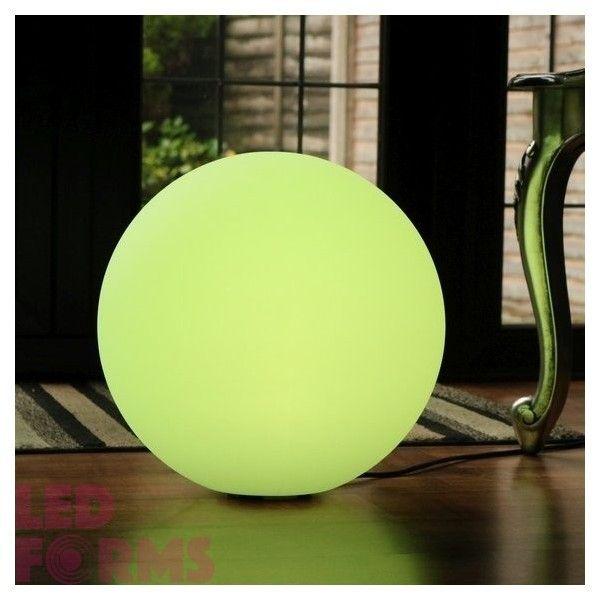 Шар светящийся беспроводной LED, диам. 60 см., разноцветный (RGB), пылевлагозащита IP68, встроенный аккумулятор