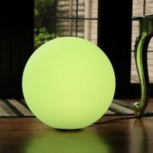 Светящийся шар LED Ball 60 см., с аккумулятором, разноцветный RGB, с пультом ДУ, IP68