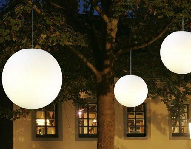 Подвесные светящиеся LED-шары