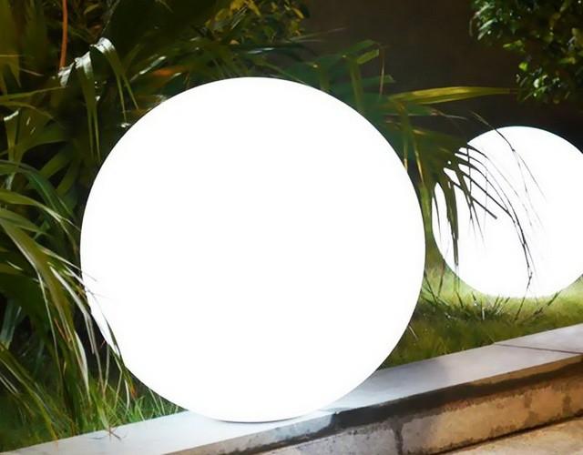 LED шар: не только совершенная форма, но и яркий уличный антивандальный светильник