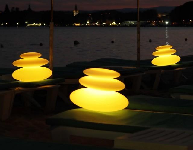 Аккумуляторные дзен лампы LED для настольного и напольного освещения