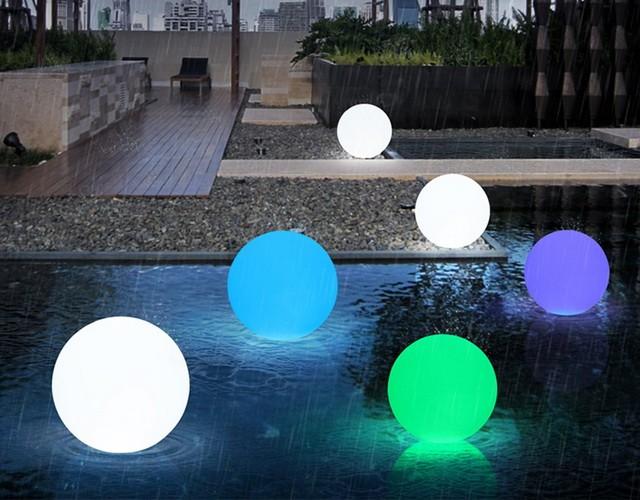 Светящийся LED-шар сделает праздничной любую погоду!