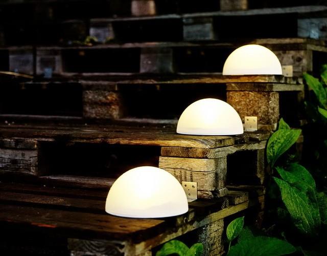 Светильники светодиодные полусферы для ландшафтного освещения