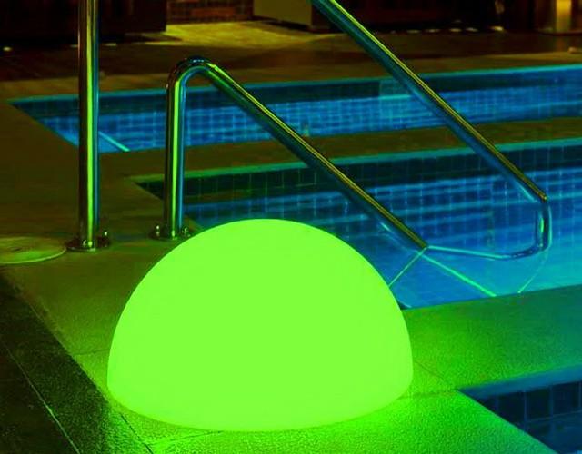 Светильник полусфера для бассейна - влагозащита IP65