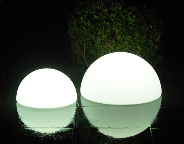 Светодиодный светильник полусфера для ландшафтного освещения