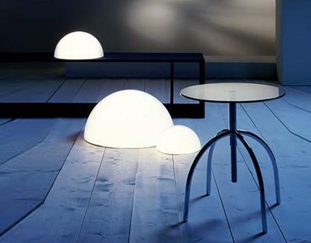 Стильное освещение для интерьерного дизайна - светодиодные светильники полусферы